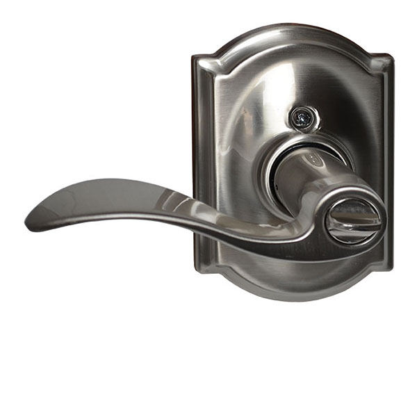 entry handle with thumb turn lock