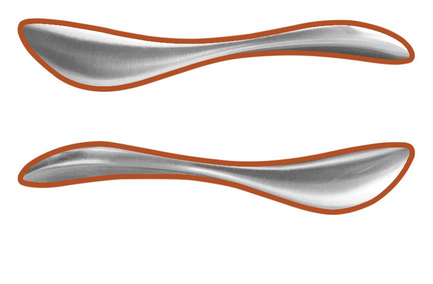 Pella handle shape